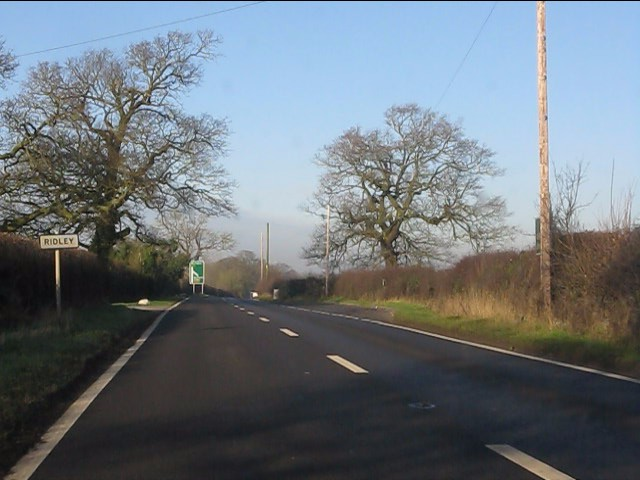 A49 enters Ridley