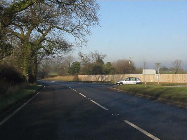 A49 at Ridley Green