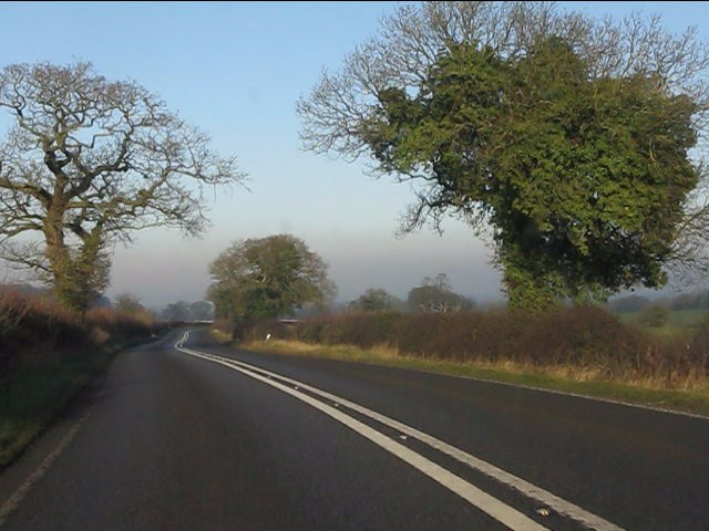 A49 north of Ridley