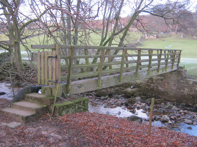 Footbridge over Arkle Beck