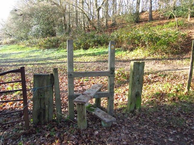 Sussex Border Path stile