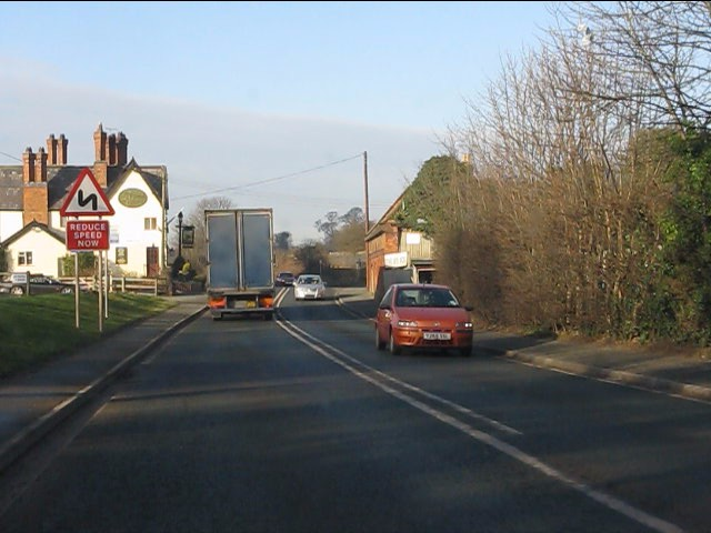 A49 in Beeston