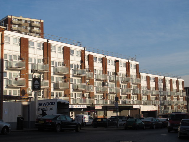 Flats in Bell Lane, NW4