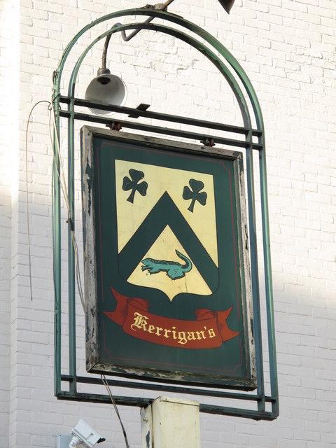Sign for The (former) Elgin, Bell Lane, NW4
