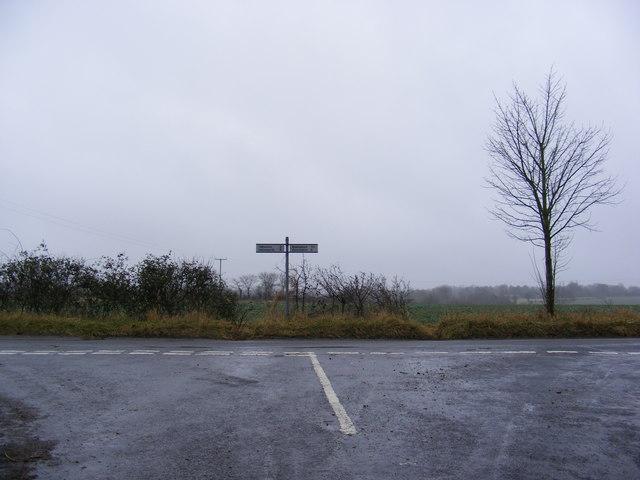 Badingham Lane junction