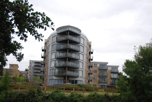 New riverside apartments
