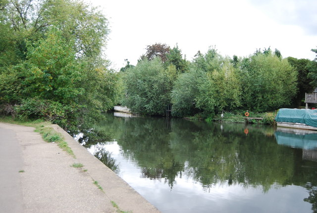 River Medway approaching Maidstone