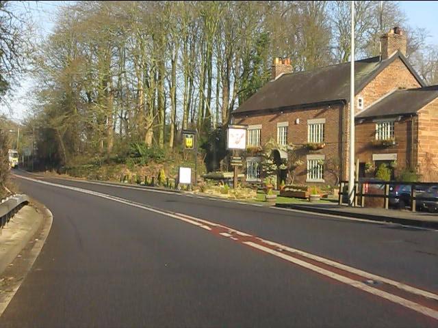 The Alvanley Arms public house, Cotebrook