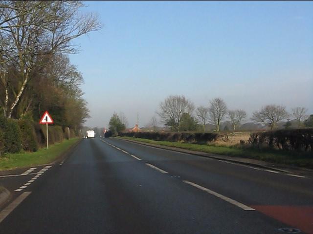 A49 at Sadlers Lane