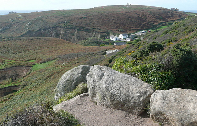 First view of Porthgwarra