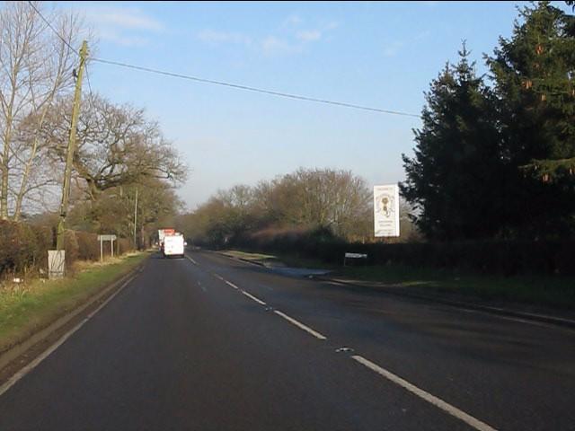 A49 at Longstone Lane