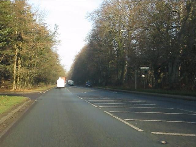 A49 at Hogshead Lane