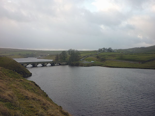 The south west reaches of Grassholme Reservoir