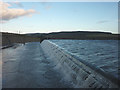 NY9121 : The River Lune exits Selset Reservoir by Karl and Ali