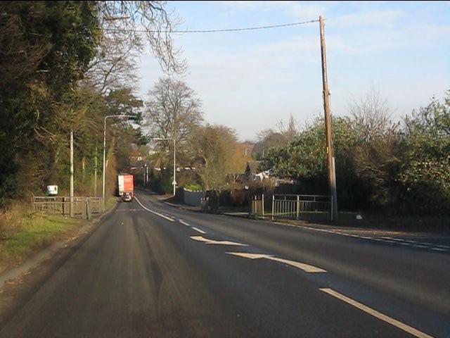 A49 at Forest Close, Cuddington