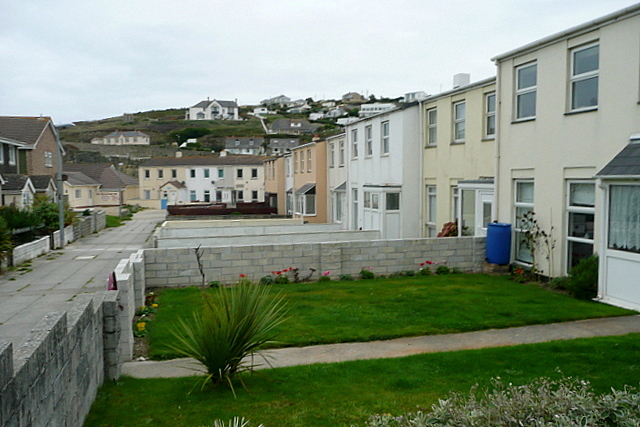 Houses at Portreath