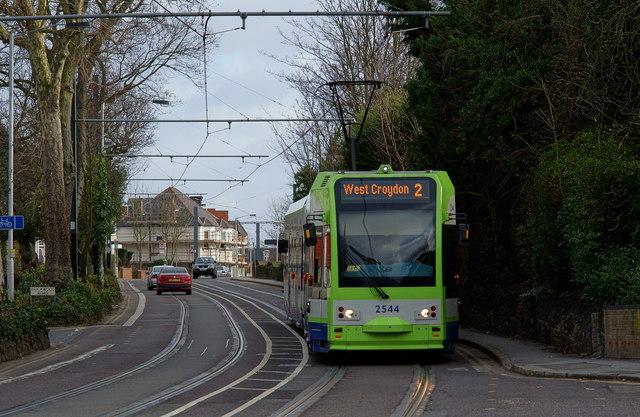 Approaching East Croydon