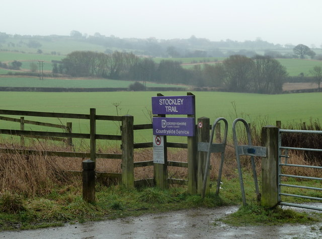 Sign for the Stockley Trail