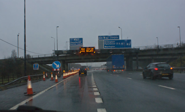 M6 Junction 21a
