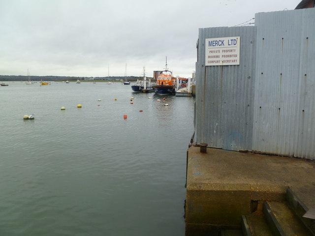 Poole, RNLI moorings