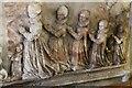 TF4250 : Daughters of Sir John Reade, memorial, Wrangle church by J.Hannan-Briggs