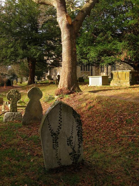 Graveyard, Chiddingly Church