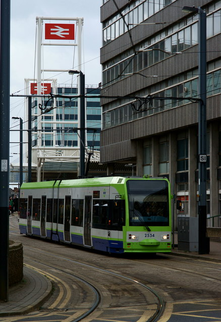 Departing From East Croydon