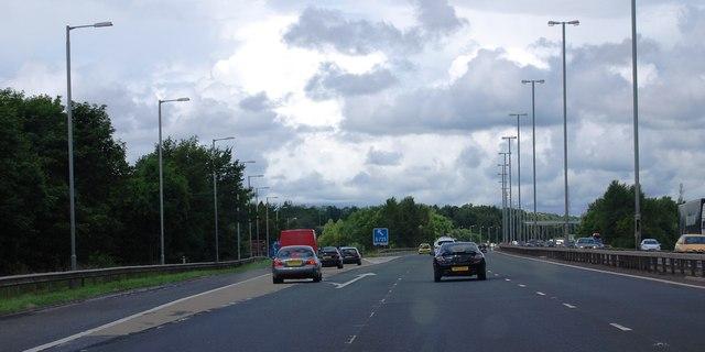 Junction 5, M74