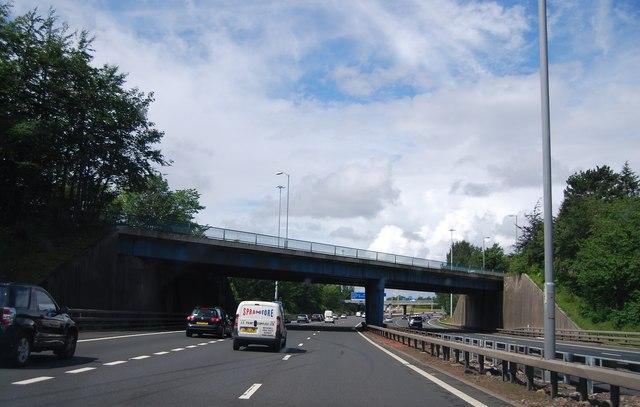 B7071 Bridge, M74