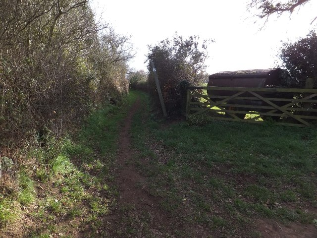 Bridleway to Exeter Road