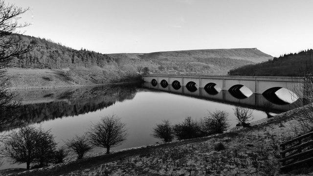 Ashopton, Ladybower reservoir
