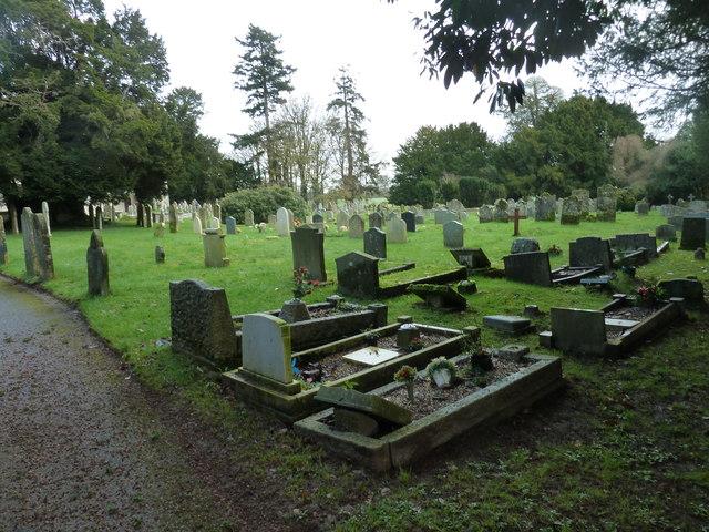 St Mary's Church, Breamore- churchyard