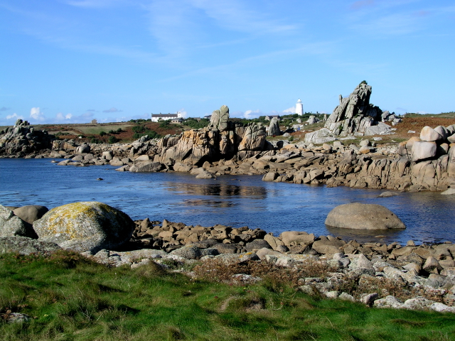 Looking North towards St Warna's Well St Agnes