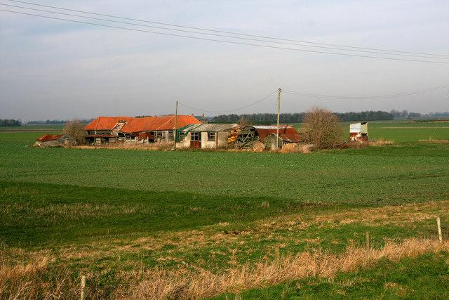 Farm buildings at Welney Fifties