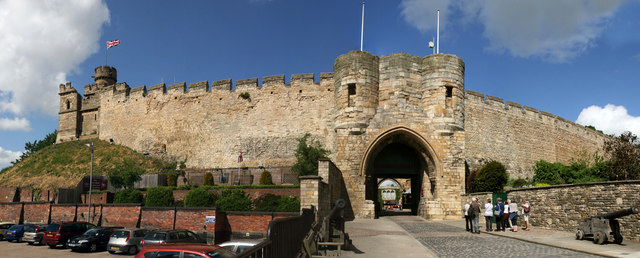 Lincoln Castle east gate