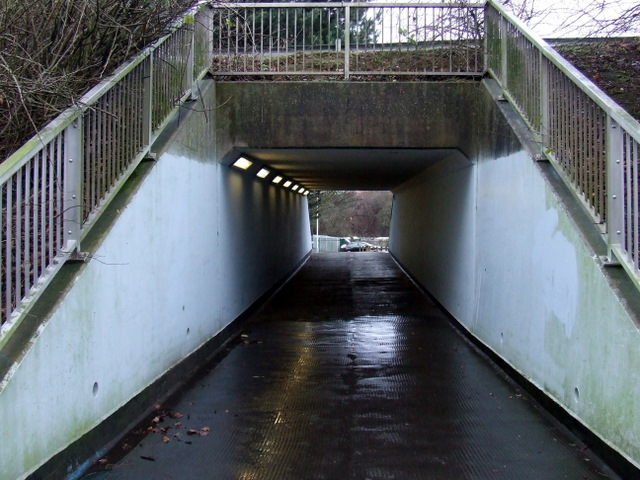 Underpass at Gipsy Lane