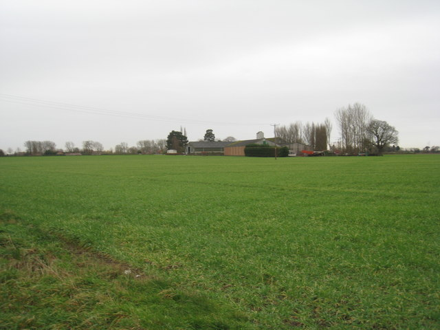 View towards Kelfield Lodge