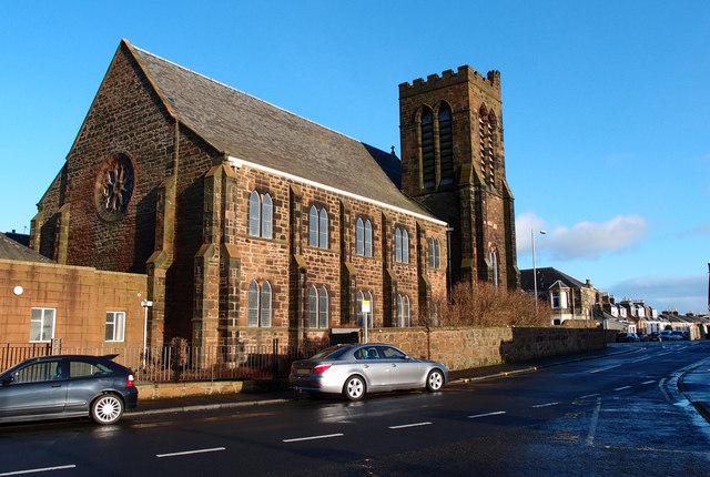 St. James Parish Church, Newton on Ayr