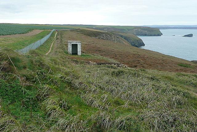 Coastal path towards Portreath