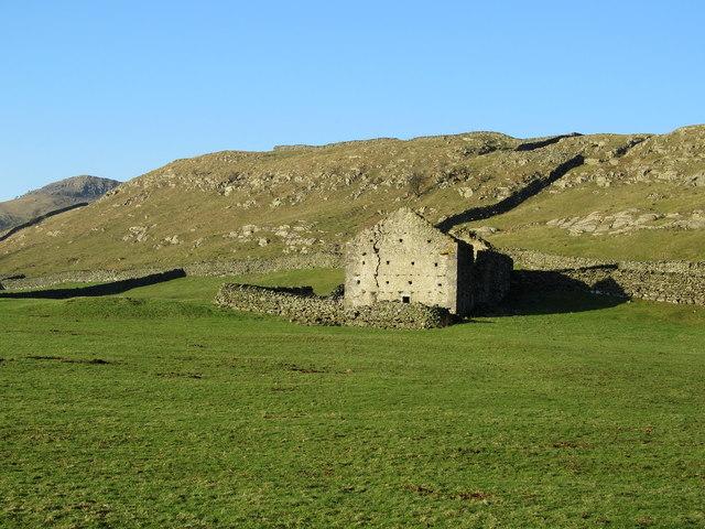 Ruined Barn at the Foot of Moughton