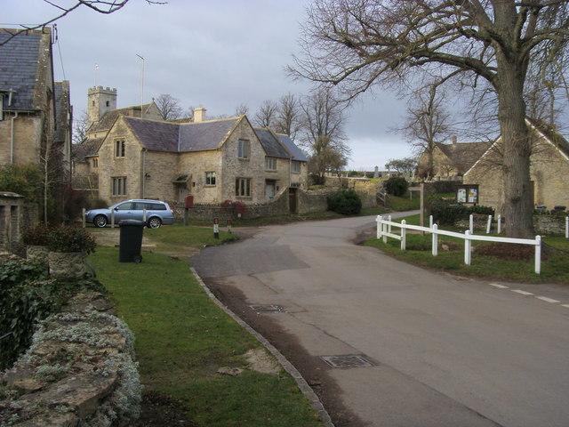 Nearing the village hall