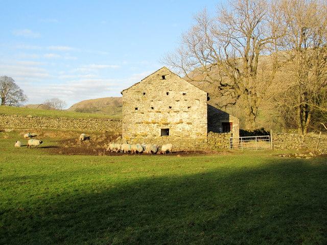 Another Stone Barn near Wharfe