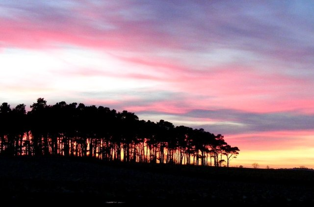 Sunset at Pitairlie