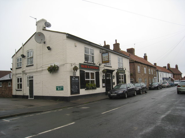 The Hare and Hounds, Riccall