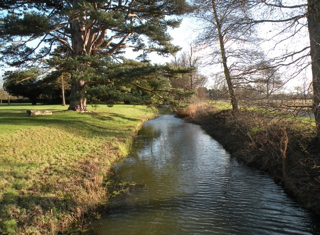 The River Granta looking southeast