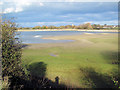 SP9113 : Low Water at Startops Reservoir January 2012 by Chris Reynolds