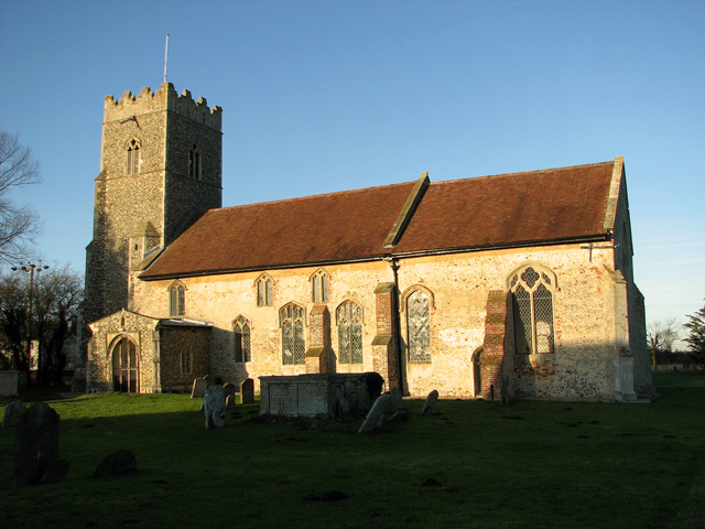 St Andrew's church in Kettleburgh