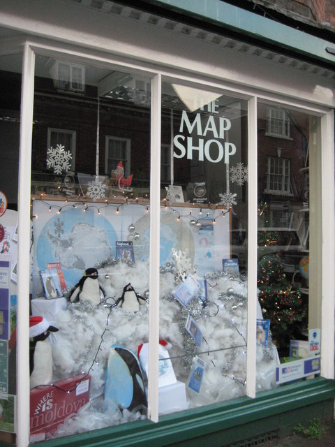 The Map Shop, Upton upon Severn