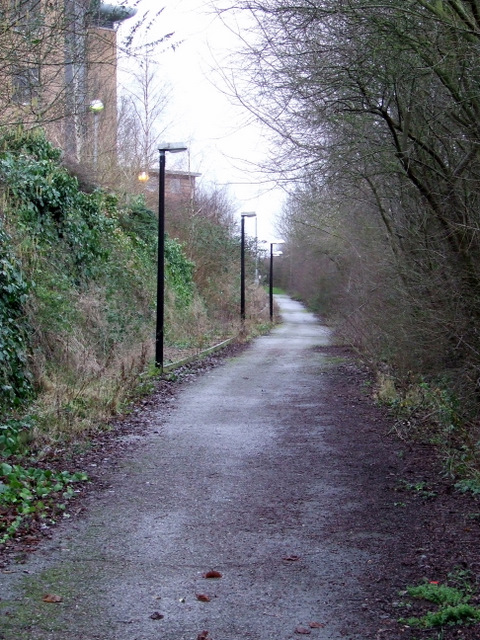 Footpath to Capability Green