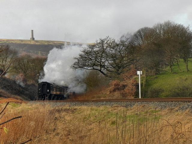East Lancashire Railway, Touchill Cutting